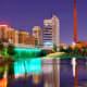 6. Birmingham, Ala.Average days of precipitation: 117Annual inches: 53.7Annual mm: 1,364Photo: Shutterstock