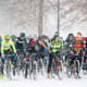 4. Buffalo, N.Y., Cleveland and Hartford, Conn. (tie)Days of zero F or below a year: 3Above, cyclists brave the snow at the USA Cycling Cyclocross National Championshipsin Hartford Conn., in January 2017.Photo: Rena Schild / Shutterstock