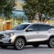 2019 GMC Terrain FWD GM1.6 L, 4 cyl, Automatic 6-spd, Turbo, DieselAnnual fuel cost: $1,400MSRP: $25,000-$37,800 2019 GMC Terrain AWD1.6 L, 4 cyl, Automatic 6-spd, Turbo, DieselAnnual fuel cost: $1,400MSRP: $29,800-$39,5002019 GMC Terrain FWD 1.5 L, 4 cyl, Automatic 9-spd, Turbo, Regular GasolineAnnual fuel cost: $1,200MSRP: $25,000-$37,800Photo: GM