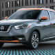 2019 Nissan Kicks 1.6 L, 4 cyl, Automatic (variable gear ratios), Regular GasolineAnnual fuel cost: $1,050Photo: Nissan