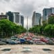 Luxury CarBased on the cost of a BMW 5 series , these are the cheapest countries to purchase and run a luxury car for a year:1. MexicoTotal price from new: $24,916Percent of yearly wage: 47.54%Pictured is downtown Mexico City.Photo: Shutterstock