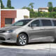 Chrysler Pacifica Plug-in HybridStarts at: $39,995Electric-only range: 32 milesMPGe: 82MPG: 30 (gas)According to Edmunds, there's no other 3-row EV or hybrid that can transport seven people in such comfort.Photo: Chrysler