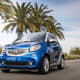 Smart EQ fortwoStarts at: $23,900Range: 58 milesMPGe: 108 combinedSmart is the first brand to switch to an all-electric line up of vehicles, according to Engadget.Photo: Smart USA