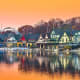 PhiladelphiaMedian Monthly Mortgage Payment: $922.80Minimum Education Needed to Afford a Mortgage: HS Diploma or GEDPercent of Income Spent on Median Mortgage: 15.4%Percent of Income Spent on Median Rent: 26.8%Pictured is the Schuylkill River at Boathouse Row in Philadelphia.Photo: Shutterstock