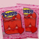 Peeps Marshmallow HeartsPeeps are a particularly polarizing candy, but that just means that anyone in your life who loves them is sure to appreciate some on Valentine's Day. Strawberry-flavored red heart Peeps are simple and treat for the holiday and the cold weather.$5.95 on Walmart
