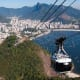 """20. Sugarloaf Cable Car, Rio De Janiero, Brazil 2018 Attendance: 1.25 millionThe cable car to Sugarloaf Mountain has been around since 1912, only the third such cable car in the world at the time. You may remember it from a scene in the James Bond film """"Moonraker."""" Each of the cars can carry up to 65 people.Photo: Shutterstock"""