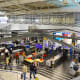 3. Athens International AirportAthens, GreeceOn-Time Performance Score: 8.1Service Quality Score: 9Food and Shops Score: 8.7You might fly through here just to experience that breezy security line, but the shopping, service and punctuality are top-notch.Photo: kathleenru / Shutterstock