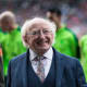 14. IrelandIreland President Michael D. Higgins throws a pitch for the Liam Miller Tribute at a stadium in Cork, Ireland.Photo: D. Ribeiro / Shutterstock
