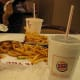 """In the spring of 2002, Burger King decided to encourage eaters (mostly kids) to """"play with their food"""" by introducing Shake 'em Up fries. Essentially, you just poured the fries into a special Shake 'em Up bag, then sprinkle some powdered cheese on them and shake until the fries got covered in cheese. This actually isn't such a bad idea. Think about it: at least this way people get to work off some of the calories. Like maybe one fry's worth. Unfortunately, the Shake 'em Up Fries didn't even last the year. Photo Credit: Ray_from_LA"""