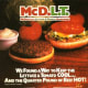 """The McDLT was a schizophrenic burger, through and through. Introduced in the mid 1980's, the burger was served separated (by a chunk of Styrofoam) into the cold side (veggies) and the hot side (the meat) so that customers could """"keep the hot side hot and the cool side cool,"""" as the slogan went. It was then up to the consumer to take the bold step of combining the two when ready. About the only thing that this product actually accomplished was giving Jason Alexander (soon to be known as George Costanza) an early taste of the limelight and a rare chance to showcase his endangered full head of hair. Catch a video of his McDLT commercial here."""