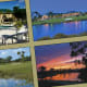 """RetireNet mentions that this West Palm Beach, Florida retirement community includes a """"championship golf course awarded distinction of top 15 by GolfWeek Magazine. Clubhouse, fitness and tennis center. Only 325 magnificent homes in private community of 353 lushly landscaped acres. Homes priced from $200,000 on large lots."""" The country club also includes access to an oversized lap pool and """"state-of-the-art fitness studio."""" Photo Credit: Iron Horse Country Club"""