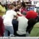 Last year, a crowd of Wal-Mart customers descended upon a pile of Xbox game systems and proceeded to fight and brawl with one another until the pile was picked clean. Watch the video of people scavenging and shouting, trying to snatch up the goods while crawling on their knees. It will make you think twice about which items you want on your shopping list this year. (A similar scuffle took place at another Wal-Mart over DVDs. You can watch that video here.) Photo Credit: youtube.com