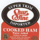 """What: About 312 pounds of ham products are being recalled on worries that they may be contaminated with Listeria, according to the USDA Food Safety and Inspection Service. The ham bears the label: """"Super Trim, Shurfine, Imported, cooked ham, water added, 98% fat free,"""" and comes in 16-ounce packages. Where: The ham was sold by retailers in Maine and New Hampshire. It was produced on Nov. 25, has a sell by date of """"10JA24,"""" and lists the establishment number 141 along with a Canadian inspection seal. For more information, visit usda.gov. Photo Credit: usda.gov"""