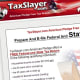 Description: TaxSlayer is a tax prep tool that you can use on the Web or download onto your computer, though beware. One user of this program complained that there was no phone-based customer support. Limitations: You can only free file if your adjusted gross income is less than $57,000 and you are age 25 or younger, if you're aged 65 or an active member of the military. You can also file free if you qualify for the Earned Income Tax Credit or if your adjusted gross income is less than $10,000. Price: If you don't qualify for free filing, it costs $9.95 for a federal return. It costs $4.95 to file a state return. Photo Credit: TaxSlayer
