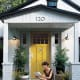 If you have siding, spray wash it. Also, make sure that the shutters look good — if you have one that is broken, try to find a replacement. Another easy way to update the look of your house is to replace your number. Be sure to replace drab looking porch lights and add a plant or two to make the house look more inviting, too. Photo Credit: m74reeves