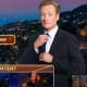 """Don't feel too sad for Conan. He reportedly received around $40,000,000 in his recent exit agreement with NBC, forcing him to leave the network's """"Tonight Show."""" At least $8 million of that is going to his staff, but still that's a nice chunk of goodbye money. Not surprisingly, there are some strings attached. His agreement with the network """"bars O'Brien from bad-mouthing his former NBC bosses"""" and he won't be able to host any other TV shows until September, at the earliest. Photo Credit: Tonight Show With Conan O'Brien"""