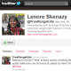 Twitter feedFollowers: 7,050Bio: Generalissimo of Free Range Kids Movement, syndicated columnist, sought-after speaker. Lenore Skenazy is a supermom who Tweets on general parenting topics with a focus on kid safety. Like her blog, her Twitter updates teach frazzled parents how to raise safe, self-reliant kids without going nuts with worry. Visit the blog Follow @FreeRangeKids