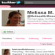 """Twitter feedFollowers: 1,500Bio: Raising happy, healthy kids ... Parenting ideas and resources for busy moms and moms-to-be. Melissa M., aka """"Melissa McMommy,"""" tweets creative parenting tips, and pays particular attention to parents with troubled kids. She's also a good resource if you're interested in the policy side of education. Visit the blog Follow @MelissaMcMommy"""