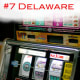 Delaware, the second-smallest state in the U.S. after Rhode Island, saw the biggest fall from grace of any state in 2010, dropping 10 spots down the list to become the state with the seventh-highest incidence of violent crime in 2009. The jury is out on exactly what accounted for the change, but a new bill in the Delaware House of Representatives may help clarify what is cause and what is cure. Lawmakers in support of a bill to expand the state's legalized gambling areas blame rising crime on unemployment, and are considering expanding casinos and racetracks to create more jobs and thus reduce crime. This, however, will likely take place alongside a reduction in the police force brought about by budget cuts, which some expect will lead to an overall increase in crime next year. Photo Credit: Jeff Kubina