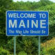 $2,416 per capita Maine is the only one-syllable state and famous for its delicious lobster and the largest producer of both blueberries and toothpicks in the world. It also takes the last slot in our top 10 list. The state sales tax is 5% and the tax brackets ranged from a low of 2% to a high of 8.5% on earners making over $20,150, but will be replaced by a flat tax of 6.5% in 2010. All property of Maine residents is also subject to local and state taxes. Photo Credit: aresauburn