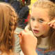 """A representative from the Plastics Make it Possible campaign says that """"children's skin and eyes are far more sensitive than their hair, fingernails, or toenails, so be sure any makeup used is meant to be applied to the skin, and certainly follow the directions."""" Even if you are trick or treating with your child, """"[their] name, home address, and telephone number should be accessible, either in the Halloween costume itself or on a bracelet. While this information must be easy to find in an emergency situation, it shouldn't be visible to casual observers,"""" advises the representative from Plastics Make it Possible, an initiative sponsored by the plastics industries of the American Chemistry Council. Photo Credit: wmshc_kiwi"""