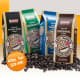 Most coffee chains will sell bags of their coffee beans so you can brew your own at home. Dunkin Donuts, for instance, sells its original blend of coffee beans in one-, four-, and five-pound packages ($7.99, $19.99 and $37.49, respectively). Photo Credit: DunkinDonuts.com