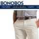 """An online-only men's clothing retailer, Bonobos started with the goal of making men's pants that truly fit well. Of course, it couldn't exactly make that claim unless it were willing to let customers return pants at no cost if they turned out to be ill-fitting. Aided by its customer service """"ninjas,"""" the retailer brags that you can """"return anything, anytime."""" It even urges customers to buy two pairs of pants in sequential sizes and return the pair that doesn't fit. Photo Credit: bonobos.com"""