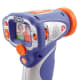 """For all the aspiring filmmakers with a Y chromosome who aren't that into a camera with the words """"Barbie"""" or """"girl"""" in the name, VTech again comes to the rescue with a decidedly more boy-centered design. The Movie Magic DigiCam's gun-like (radar gun, if you want to be specific) shape lets kids shoot people while feeling like they are actually shooting something. And the camera's specs are some of the best on the kid market: The 1.8-inch screen on the back will display the camera's still images (2 MP in size) and the VGA movies (at 640x480 pixel resolution) stored on its 256-MB internal memory, expandable via SD card. Accordingly though, those higher specs come with a higher price tag as well. Age: 4-6 Price:$139.99 at Amazon Photo Credit: Amazon.com"""