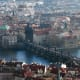 """The most luxurious hotels in Prague have average nightly rates at well under $200, and at some five-star hotels like the Hilton, a room for two costs as little as $147 a night. That leaves you that much more to spend on the wide range of Czech beers, a boat tour down the Vltava river that divides the city or souvenirs like marionette dolls and T-shirts that say, """"Prague: Czech It Out."""" Avg Five-Star Hotel Rate: $187.73 Photo Credit: lostajy"""