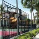 Of course, Larsa's husband – who collected six NBA Championship rings during his career - would have a basketball court. The home also has a playground for the four kids the couple have together (Larsa's known to fire her nannies), and a built-in grill. Photo Credit: Panton & Co. Realty