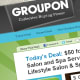 "Groupon, the popular group deals site, can be a boon for restaurants looking to attract new customers, but it can also be a pain in the neck for the waitstaff, says Dublanica. ""A party of twelve will come in with their Groupons and they'll request separate checks [so they can each use their Groupon],"" he says. ""You can't do that."" Indeed, many Groupons for restaurants will stipulate that you can only use one per table, but that apparently doesn't stop thrifty diners from trying to game the system. And while we're on the topic of Groupon, Dublanica also observes that some diners are guilty of tipping only on the after-coupon price. ""When you come in with a $50 Groupon or gift certificate and run up a $100 tab, tip on the whole check, not just the $50,"" he says. Photo Credit: Groupon.com"