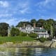 Located in prestigious Field Point Park (at an undisclosed address), this 100-year-old home on the Long Island Sound has been renovated and is listed for $42.5 million. You'll be in the swim with indoor and outdoor pools included with the six-bedroom, 20,000-square-foot stone home set on 4.26 acres. Photo Credit: Joseph Barbieri/Sotheby's International Realty