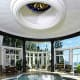 ... and transforms into the indoor pool. Photo Credit: Joseph Barbieri/Sotheby's International Realty
