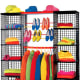 Your kid has a lot of stuff. Your kid will accumulate even more stuff during the next four years. Your kid needs somewhere to put it. Fortunately, there are plenty of storage solutions for every dorm room. Since your kid's dorm will likely be cramped and irregularly-shaped, your best bet may be a modular storage system like the classic milk-crate design that can be combined into various configurations to fill the nooks and crannies of any room. We're partial to Yaffa Blocks, which can be combined to build a makeshift closet. Photo Credit: yaffainc.com