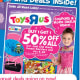 "Emails: 9 I signed up for ""Updates on sales, promotions, new products and more!"" and I declined to receive updates for Babies 'R' Us, news about recalls or toy guides for differently-abled kids. E-mail Quality: The e-mails from Toys 'R' Us primarily just linked to the store's weekly ads and told me about sales. There were no exclusive coupons or codes."