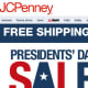 "E-mails: 8 To sign up, I followed a link on JCPenney's home page, then entered my e-mail address. I was promised ""Advance notice of our exciting offers, new products, and events."" E-mail Quality: Only one e-mail had a coupon code, though a few others gave me a code for free shipping; the rest just alerted me to online and in-store sales."
