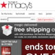 "E-mails: 15 I created a Macys.com profile and checked off ""We'll let you know about exclusive sales and events, both online and in-store."" E-mail Quality: Macy's sent the second highest number of e-mails, but the deals and sales were of decent quality. The coupon codes gave me 15%-20% discounts and free shipping, and the e-mails alerted me to one-day sales and clearance events."