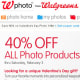 "E-mails: 16 I registered for an account on Walgreens.com, and checked off ""Get Walgreens online and in-store deals, Weekly Ad Sneak Peek, valuable health information, and great Photo offers by e-mail from Walgreens!"" E-mail Quality: Walgreens provided solid value in its e-mails; in addition to early looks at weekly ads, I also got frequent coupon codes (including a 40% off code for all photo products, and a 20% off code for condoms on Valentine's Day). There was also a monthly ""wellness newsletter"" providing health tips. Unfortunately, the value of the e-mails was somewhat diminished by the sheer quantity I received – one every other day, on average. Rather than including an all-or-nothing e-mail option, Walgreens would have done well to let customers pick and choose which types of e-mails they'd like to receive."