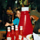 Henry Heinz invented Ketchup in the early 1870s by adapting an old Chinese recipe (pickled fish sauce). But the company didn't release the product until the tail end of the recession in 1876. It has since become the dominant condiment in this country. Photo Credit: Eden Pictures