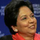"""She recently made the #1 most powerful woman on Fortune's """"Most Powerful Women in Business"""" list. Who is she? Nooyi is chairwoman and chief executive officer of PepsiCo (Stock Quote: PEP). If you have ever snacked on some delicious greasy Frito-Lay potato chips, chugged a glass of Tropicana orange juice, or relaxed with a can of Pepsi, then you already know Nooyi in a sense. This 53-year-old businesswoman was also #1 on the same Fortune list last year. Photo Credit: World Economic Forum"""