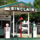 Sinclair Oil Corporation has been based in Utah since its founding in 1916 during one of many oil booms in the early-20th century. Its distinctive dinosaur logo-a Brontosaurus, technically-has been a common sight on the road in the American West, and Sinclair remains one of the largest, privately held corporations in the U.S. (as well as the only oil company among these common state-associated brands).