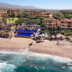 If you're looking to achieve inner tranquility, we don't think you'll have much trouble at this private beach resort set on 17 lush acres overlooking the Sea of Cortez in Cabo San Lucas, Mexico. When you're not enjoying the breathtaking views of the Baja peninsula from your recently renovated guestroom with a private terrace, you can relax your mind, body and soul with complimentary yoga classes, offered daily for all levels in the yoga studio.Guests can also enjoy candlelight yoga on Thursdays at 6 p.m. or sunrise yoga on Saturdays at 7 a.m. Private yoga instruction is also available by appointment in the yoga studio or in your own room ($95 for one hour).Thankfully, your little ones don't have to miss out on enjoying the joys of yoga. Complimentary kids' yoga lessons are held every Wednesday afternoon in the yoga studio for children ages 3 to 8. During the sessions, kids learn basic yoga poses and breathing.Room rates start at $550 per night in the summer and $750 per night during the high season (November through April).