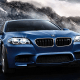 BMW loses a little bit of its street cred with this one.The M5 is a more than 560-horsepower, 4.4-liter V6 sedan that's basically a juiced version of the 5 Series. However, the 5 Series is an underpowered little wimp of a luxury car that gets by on its Xenon headlights, LED accent and fog lights, LCD displays, automatic dual-zone climate control, ten-speaker stereo system, moonroof, leather steering wheel, dark wood trim, BMW Navigation and iDrive system with touchpad controller. It can't muster 250 horsepower and just doesn't look right on the track. In fact, it looks as if it's being driven by someone's dad who's picking them up after their laps are done.The M5 was supposed to make the 5 Series track worthy and, in its Competition package, strip out all of those amenities in favor of a lighter frame, better handling and more speed. The M5 is for BMW owners who care more about what's under the hood than the emblem on it, and its loss seems to just accept the fact that some sedans will just never be cool no matter how you design them.
