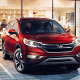 Kelley Blue Book's Best Two-Row Crossover SUV:Starting price: $19,215Combined miles per gallon: 29.5Cargo capacity: 37.2 cubic feet with all the seats up, 70.9 maximumHail to the king. We end up writing about this car and its competitors, the Ford Escape and Toyota RAV4, for the same reason station wagons received a lot of press in the '70s, minivans soaked up a whole lot of ink in the '80s and far larger SUVs garnered attention in the '90s... they're the family cars for their time. They're the top-selling crossovers in a fast-growing category, and the CR-V's cargo space and amenities like a leather interior, moonroof, Pandora-connected information display, heated seats and rearview windows and navigation system with controls mounted on the steering wheel have kept it ahead of the pack.