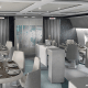 Dining will also be far from ordinary airline fare. Those tiny trays of dry overcooked chicken or mystery meat will have no place on Crystal AirCruises, where elegantly plated meals will consist of Michelin Star-inspired cuisine.
