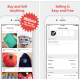 """Available on:iOS and Android devicesCosts: Free to download; sellers keep 100% of sale; shipping rates vary and sellers choose whether they will pay for shipping or pass the cost onto the buyerYou can think of Mercari as a sort of """"flea market app"""" that allows users to buy and sell a wide variety of new, used and handmade items, from clothing and beauty products†to video games and collectibles. Mercari originated in Japan, where it's become a mobile shopping sensation, and launched its app in the U.S. in 2014.Sellers list items by snapping up to four photos, writing a description and answering some basic questions about the item, including the price, brand and condition. Sellers must also indicate whether or not they†will cover the shipping costs. (Tip: not surprisingly, items often sell faster when sellers agree to pay for shipping.) Mercari will send you a FedEx or USPS shipping label after your item is sold."""