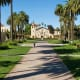 Santa Clara, CaliforniaTuition: $42,156Room & Board: $12,921Undergrads: 5,141There seems to be a correlation between a school's party scene and the number of undergrads enrolled there. SCU gets a solid A in that department, owing to the relative diversity of its more than 5,100 students. The second Jesuit school in the Top 30, SCU gets the highest marks for campus housing, food, and (unsurprisingly) weather. Academics get a solid A, making SJU a solid bet.