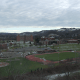 Located between the Leatherwood and Pleasant Valley neighborhoods, Wheeling Jesuit is a mainstay of its home city of Wheeling. Niche.com gives it a solid B grade overall, and recognizes the commitment of the professors (A) and the school's value (A-) as two of its draws. Dorm life is a little lacking, however, with a D grade. Student life (C+), the campus (C-), and campus food (C+) fare a little better.