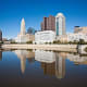 Columbus, Ohio, is SmartAsset's third best city for new graduates. The state's capital city scored well across the board, receiving a score of 66.32 for job availability, a score of 82.46 for affordability and a score of 72.61 for life outside of work.Columbus' cost of living is 3% lower than the national average, making it the eighth most affordable big city in the U.S., SmartAsset said. The median gross rent (rent plus utilities and fuel expenses) in Columbus was $822 for the four years through 2014, while the average travel time to work is approximately 21 minutes, according to the U.S. Census Bureau.The unemployment rate for the greater Columbus area was 4.4% as of March 2016, lower than the national average, according to the BLS.Large companies that credit Columbus, Ohio as their hometown include Nationwide, American Electric Power, L Brands, Big Lots, Hexion, Worthington Industries, Huntington Bancshares, DSW and Mettler-Toledo International, among others.