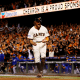 """Game 5October 26, 2014Average ticket price $861It'll be a lot easier if we just say, """"Madison Bumgarner came in and allowed no runs,"""" every time he's featured on this list, but his complete-game, 5-0, four-hit shutout deserves some love here. When the only """"trouble"""" you get into is putting a runner on second when you're already up 2-0 in the fifth, that's just dominant."""